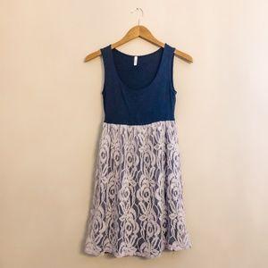 Pinkblush Maternity Lace Dress Empire Waist